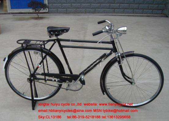 "28""traditional bicycle"