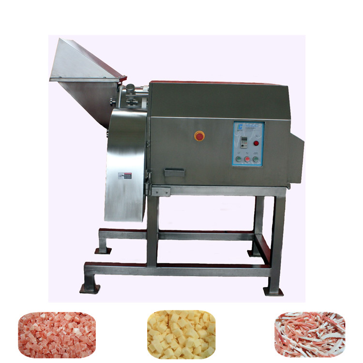 Commercial frozen chicken/pork/ bacon cutting machine with top saleDRD350 Frozen Meat Dicer