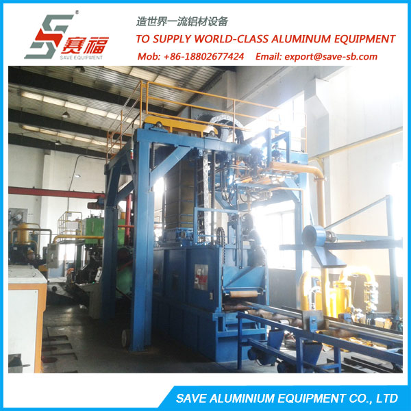 Aluminium Extrusion Profile Air Cooling Quench