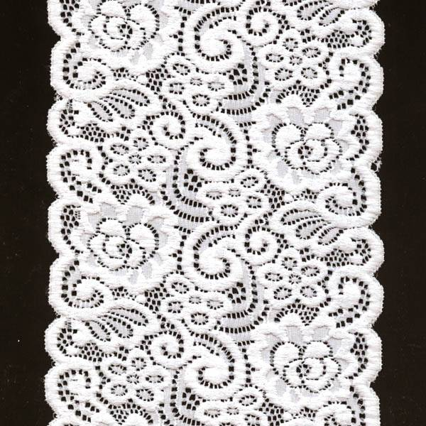 stretch textronic lace trim