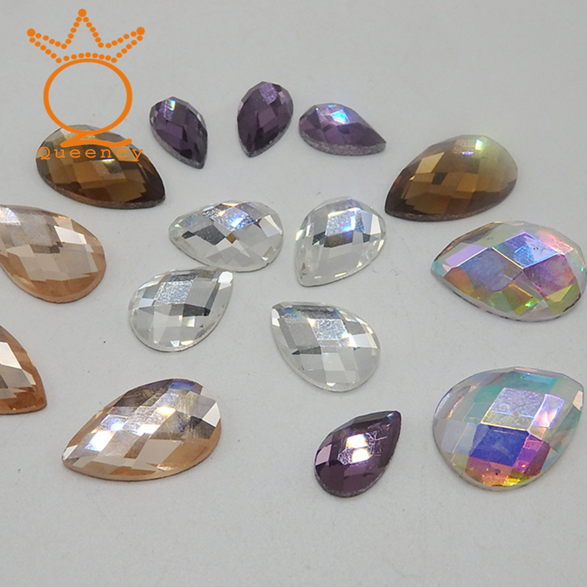 MC spark mirror glass crystal stone with china best quality wholesales
