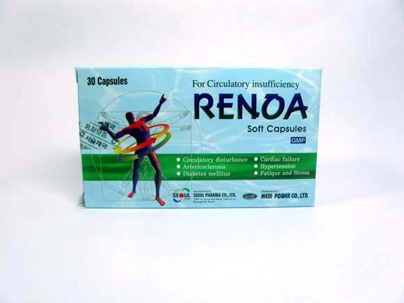 Medicine (RENOA Soft Capsules)