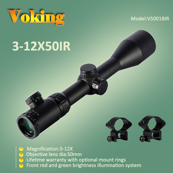 Voking 3-12X50 IR magnifier scope with your own APP