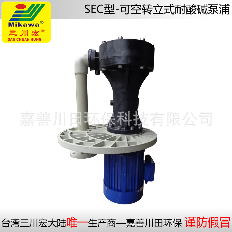 Vertical pump SEC100152 FRPP