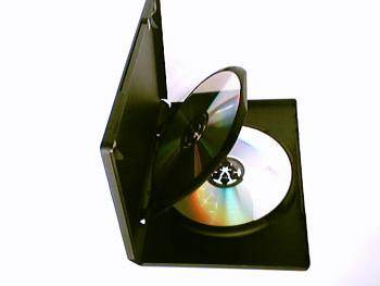 Auto Machine Packing 14MM DVD CASE With Tray