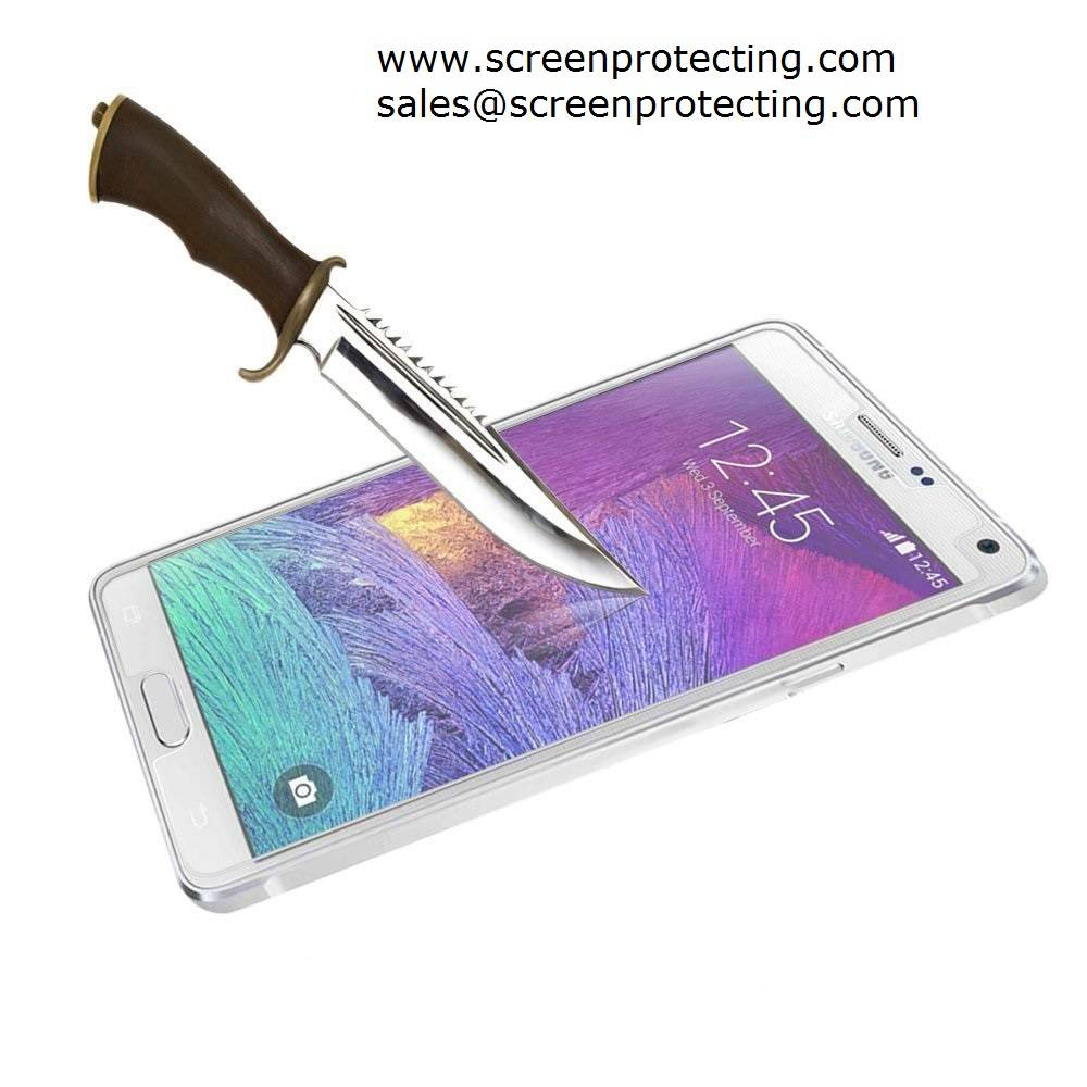 Screen Shield 2.5D Screen Guard 9H Premium Tempered Glass Screen Protector for Samsung Galaxy Note4