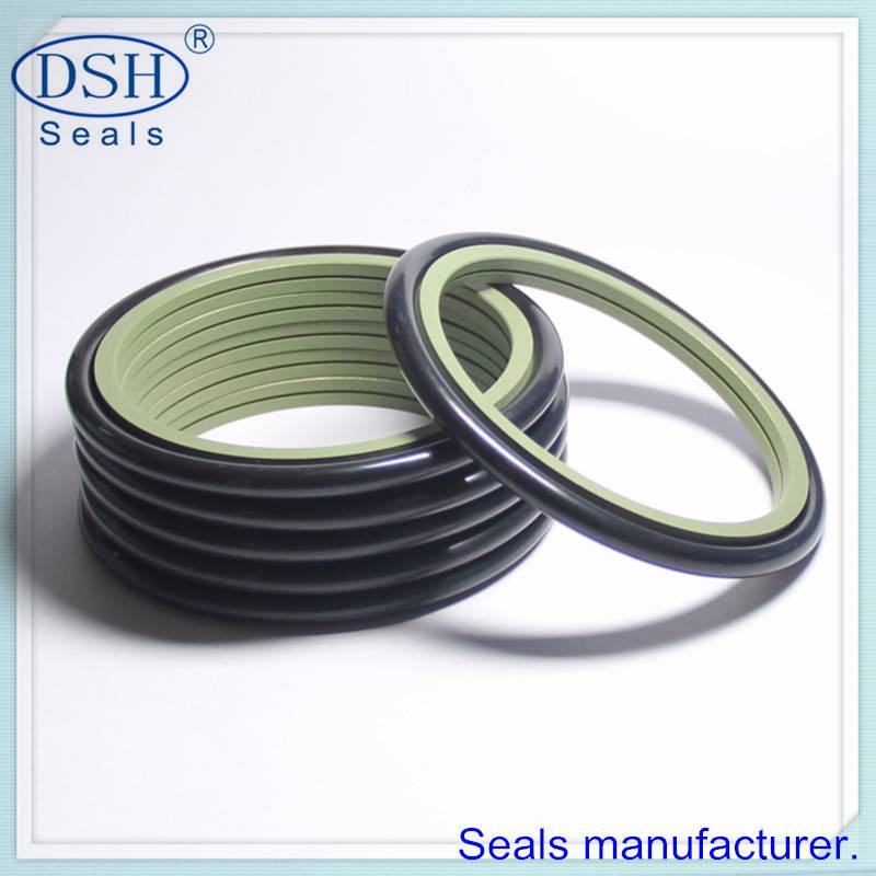 Rod rotary seal, specific design.