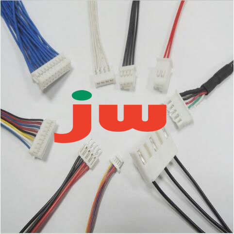 electronic terminal wiring harness with TE connectors