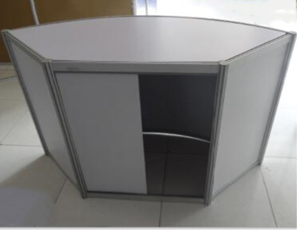 recycled used of aluminium portable exhibit counter