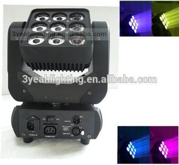 High Quality 4in1 12W Professional LED Matrix Wash Beam LED Matrix Stage Light