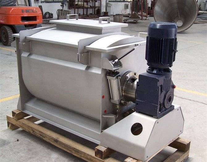 WLDH Series Horizontal Ribbon Mixer
