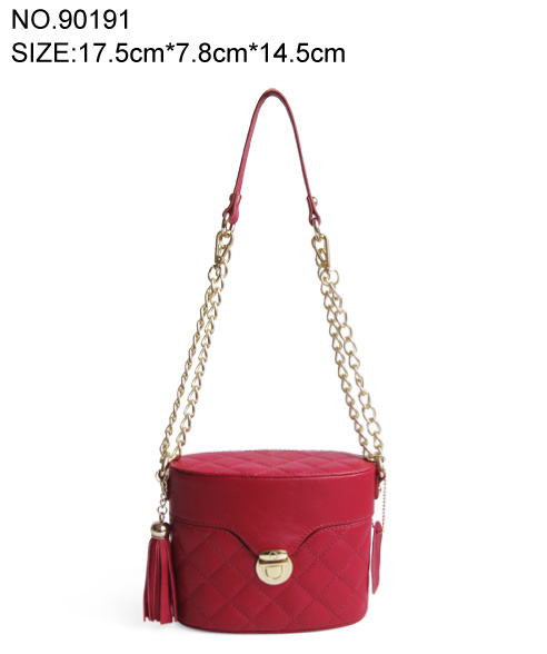 PU shoulder bag for ladies cross body bags