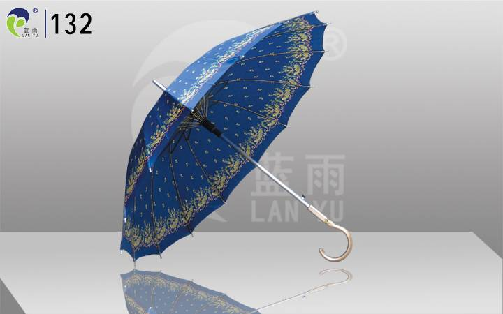 Stain Cover Auto-open Promotional Umbrella,Cosmetics Company to Promotional Event,Made in China