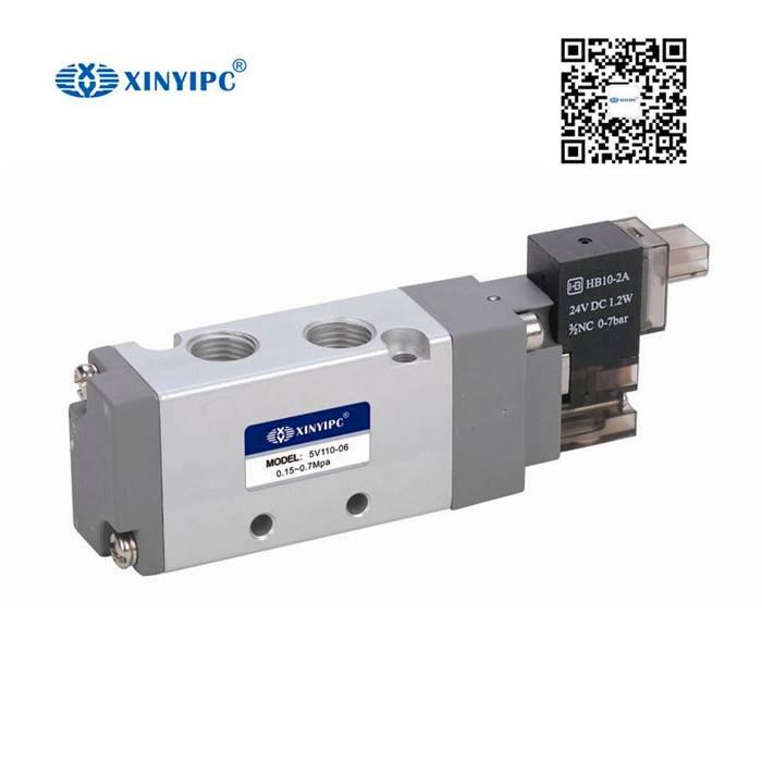 5V100/200 Series Solenoid valve, Aluminum alloy Pneumatic control valve
