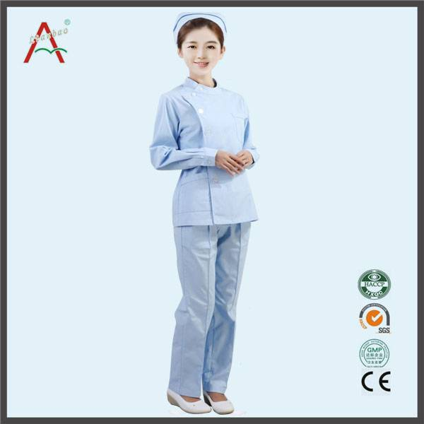 OEM Service Supply Type nurse uniform workwear for virous color