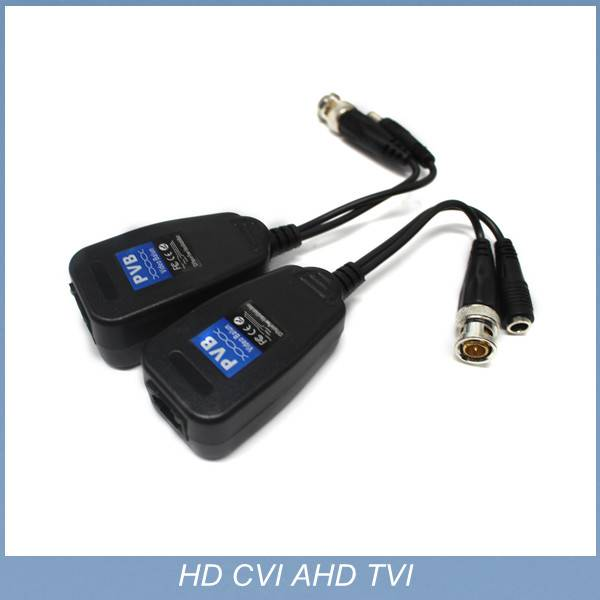 2015 new high definition 1channel CCTV Passive Power Video UTP Balun HD CVI TVI/AHD