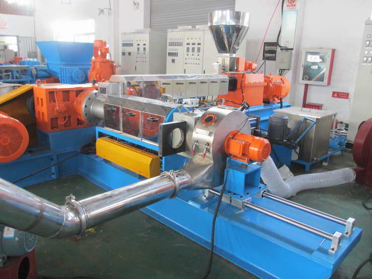 2020 CaCO3 Filler Masterbatch pelletizer CaCO3 filler compound extruder