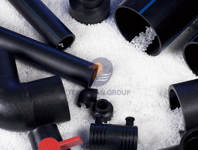 Hdpe pipe fittings shandong tengyuan building materials