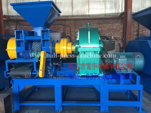 High pressure mineral powder briquette machine