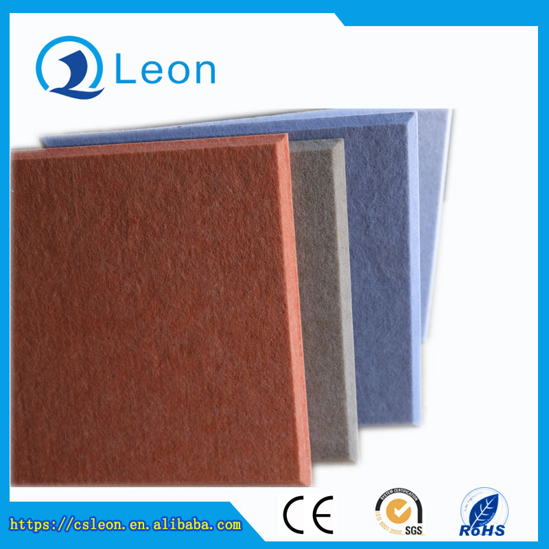 Eco-friendly polyester fiber soundproof decorative panel