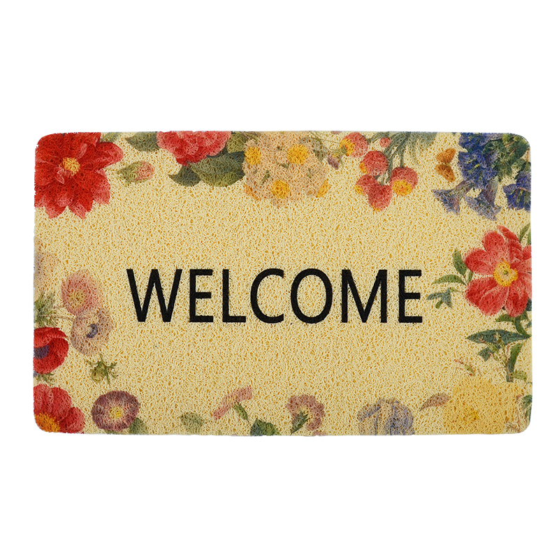 Welcome Outdoor Door Floor Mat