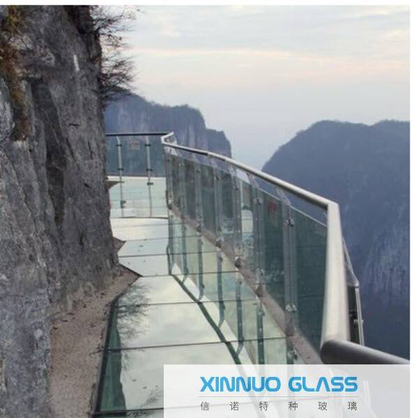 laminated pvb film glass  for building and bridge