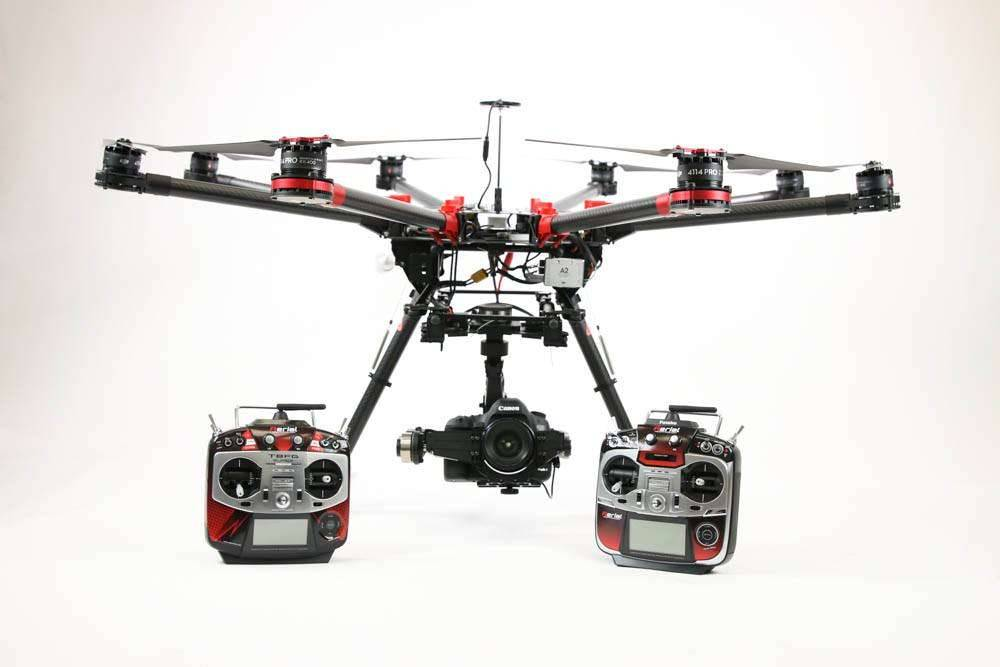 DJI S1000 Octocoper Ready to Fly Production Package