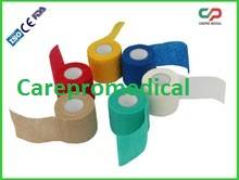 Latex Free Nonwoven Cohesive / Self Adhesive Flexible Bandage