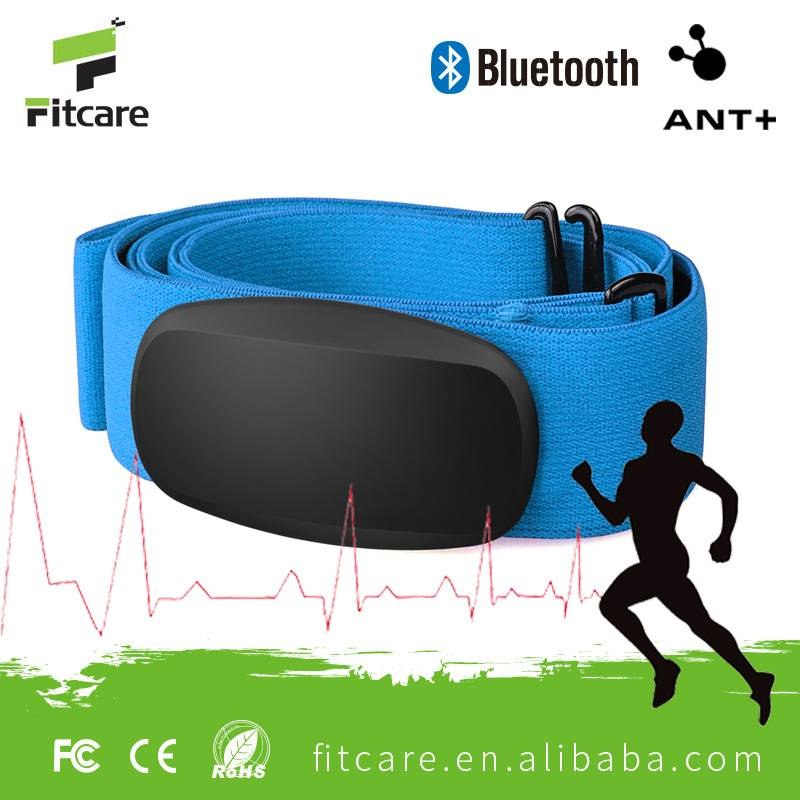 Bluetooth and ANT+ heart rate strap heart rate monitor strap