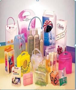 PVC plastic box/cosmetic box/clothing box