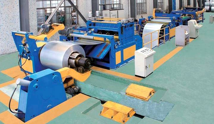 T 440 series 2-8mm * 1400mm metal uncoiling and straighten producing line,straigten machine