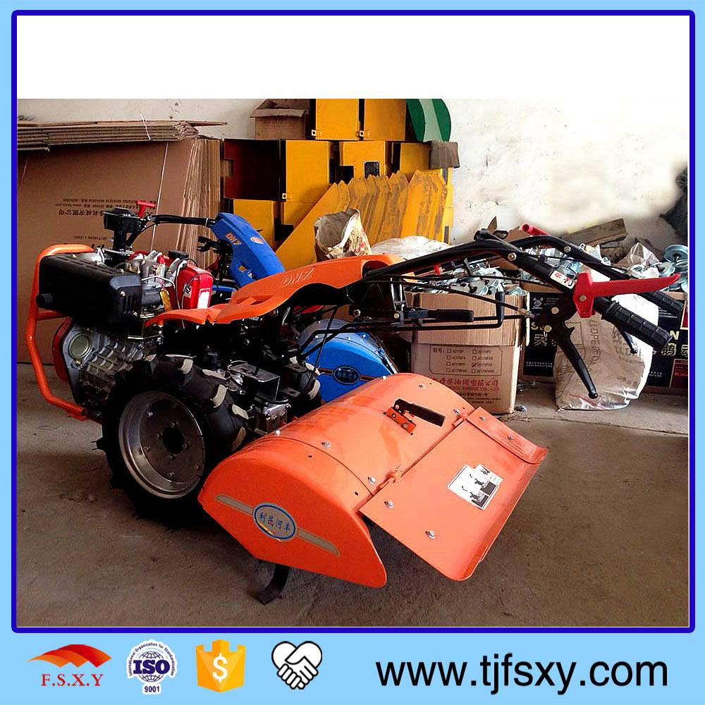 Seeding And Weeding Air Cooling Electric Start Diesel Rotary Tiller Machine