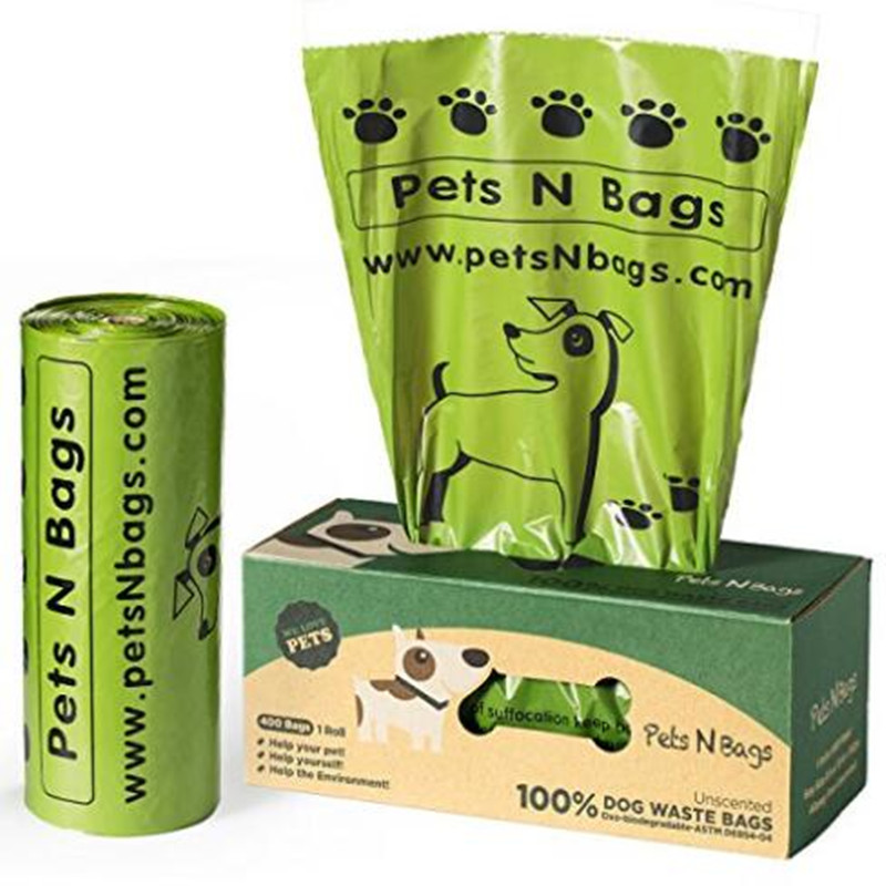 Biodegradable PET Waste Bag Meet (EN13432 )