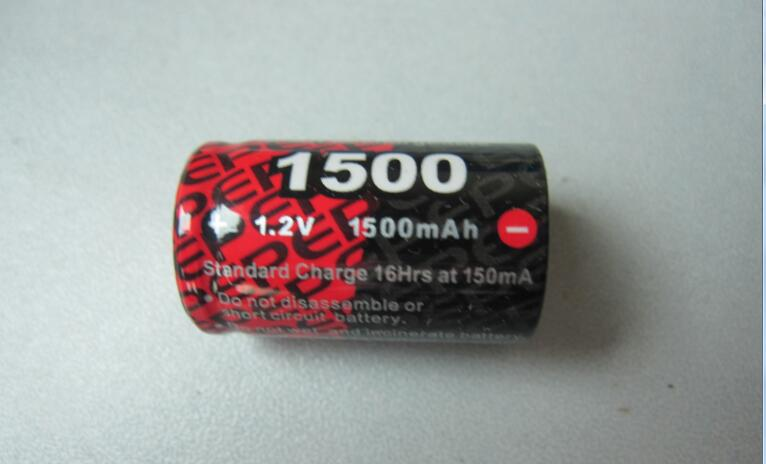 Enrichpower 1.2V 1500mAh 1-cell NiMH Battery with Tamiya/JST for RC Cars Truck Airplane Helicopter