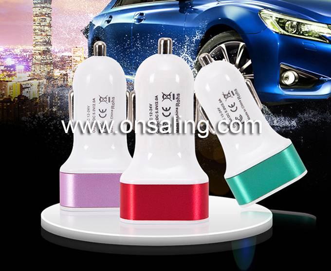 BP-CC002 5V 3.1A dual usb port car charger adaptor