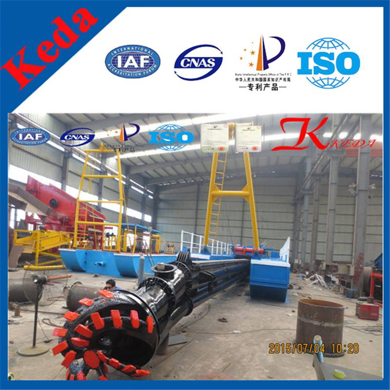 Low Price High Quality Hydraulic Cutter Suction Dredger (KDCSD400)