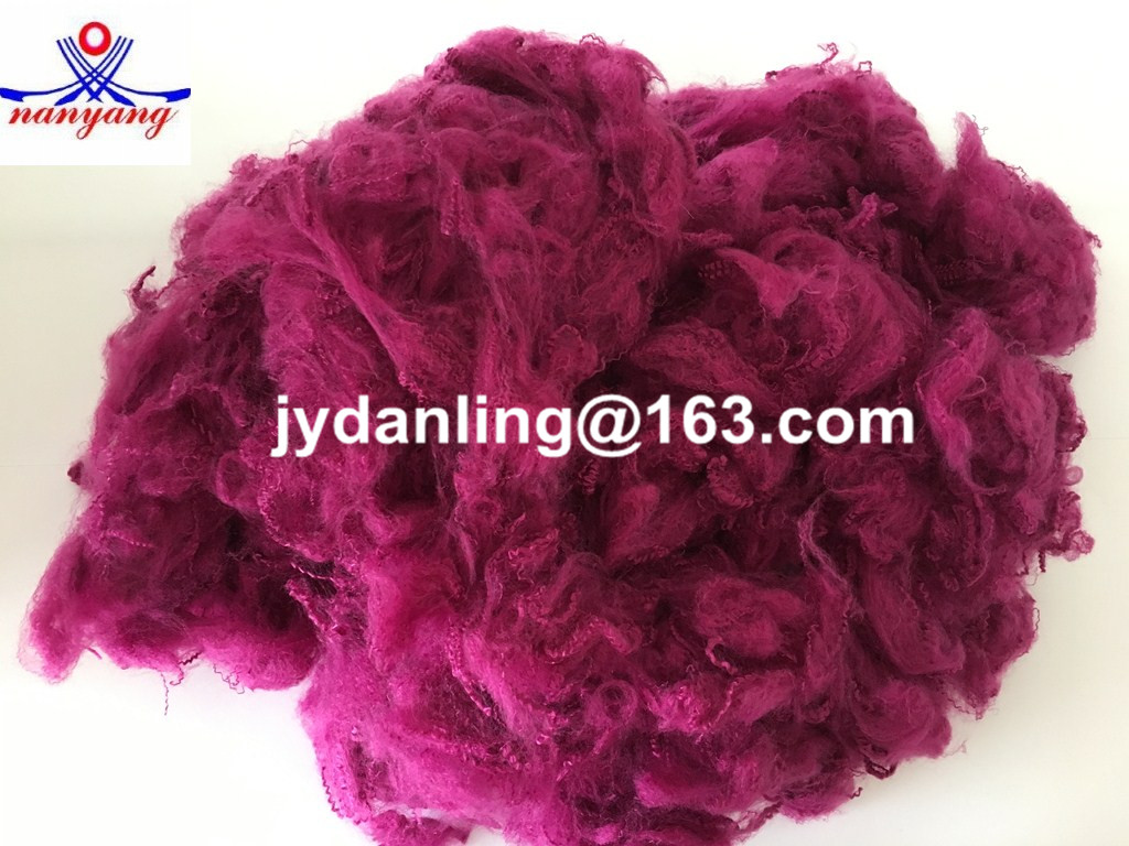 Dyed Solid Fiber Textile Raw Material