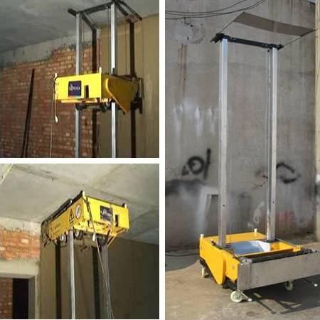 wall plastering rendering machine