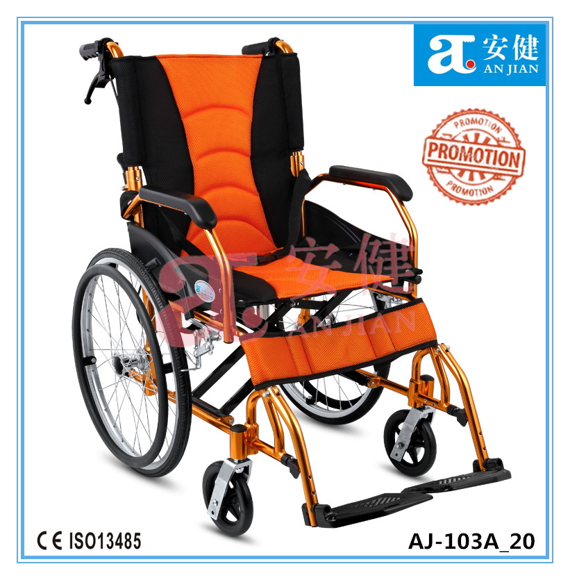 AJ-103A_20 new transport aluminum wheelchair