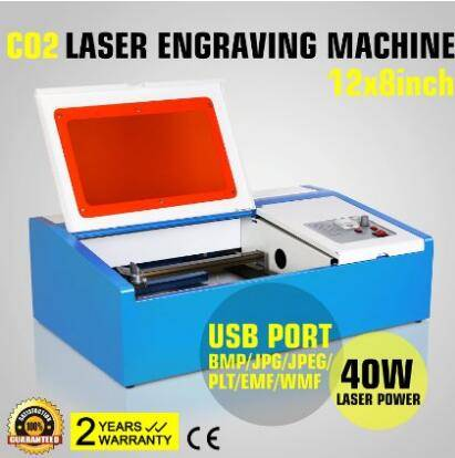 CO2 2030 Laser Engraving Machine with clamp