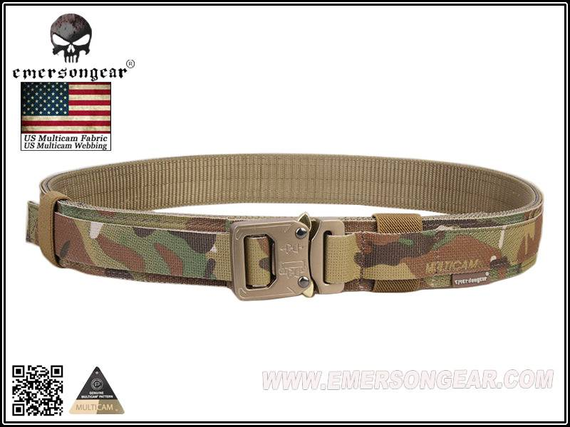 Camo Combat Belt Hard 1.5 Inch Shooter Belt Army Marine Style Tactical Quick Release Nylon Outdoot H