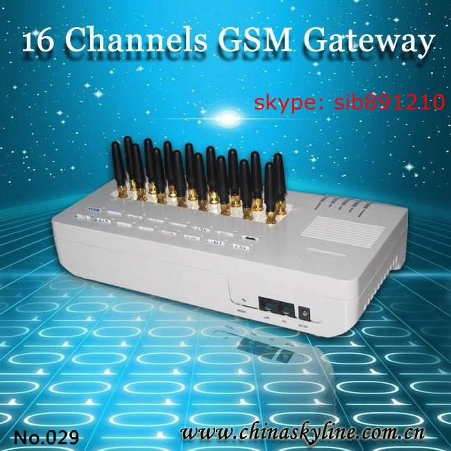 16 ports goip gsm voip gateway GoIP-16