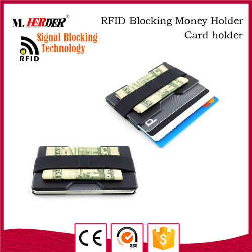 Alibaba designer money clip leather