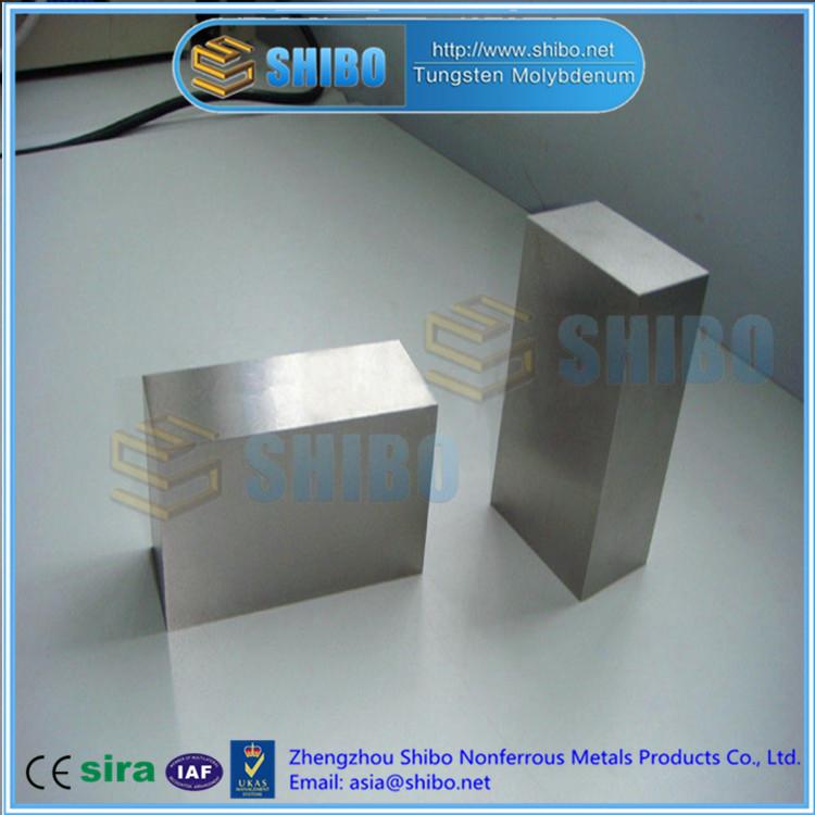 Factory Direct Sale High Purity 99.95% Molybdenum Block
