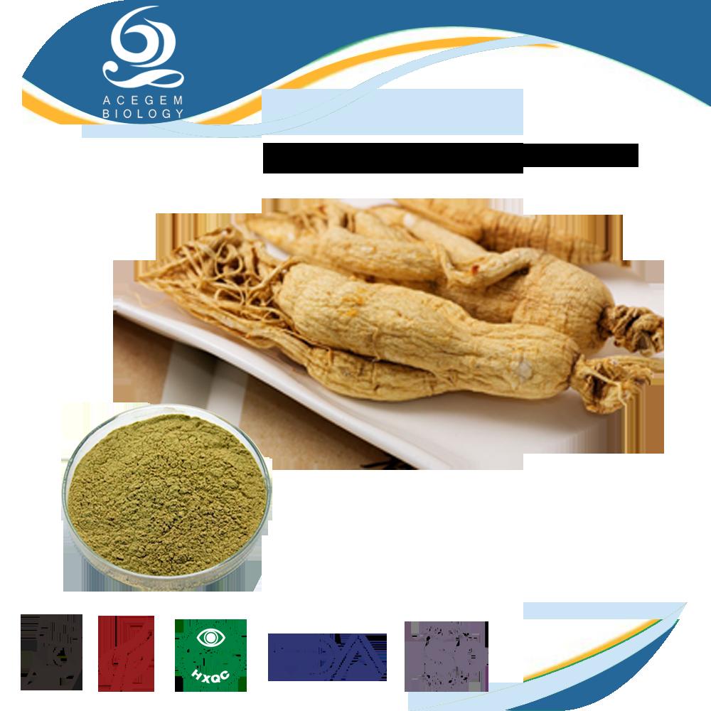 USP38 Standard Korean Red Ginseng Root,Ginsenosides 1%-20% HPLC For Dietary Supplement