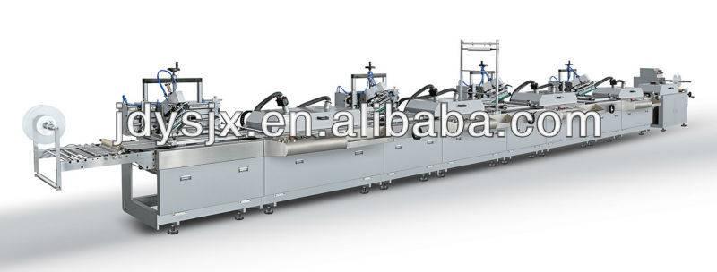 Four-color Silk Screen Trademark Printing Machine/Garments Ribbon Label Printing Machine JD-3004