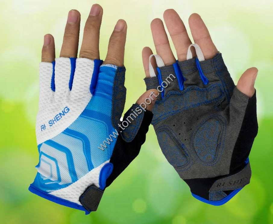 Breathable Cycling Semi Finger Gloves