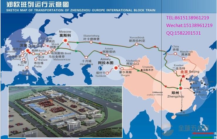 China-Europe railway transportation