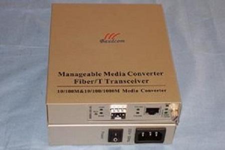 1000M Standalone Managed Media Converter with SFP slot(BD-1000M-OAM-SFP)