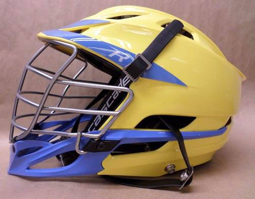 Cascade R Lacrosse Helmet with Chrome Facemask